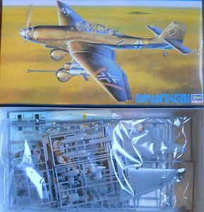 HASEGAWA JUNKERS JU87G 2 STUKA ATTACKER 1 48 SCALE MODEL AIRPLANE KIT