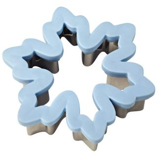 Wilton Snowflake Comfort Grip Cookie Cutter Christmas
