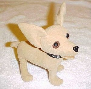 TACO BELL STUFED TOY TALKING CHIHUAHUA DOG YO QUIERO TACO BELL
