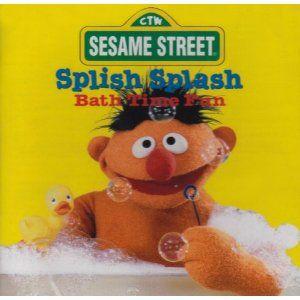 Sesame Street Splish Splash Bath Time Fun Bert Ernie 074646725528