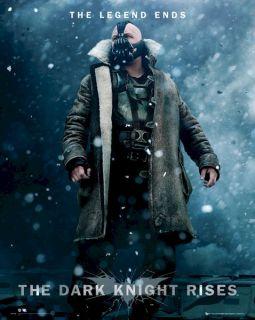 BATMAN THE DARK KNIGHT RISES MOVIE POSTER ~ BANE SNOW 16x20 Tom Hardy