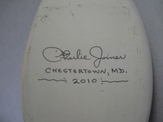 Duck Decoy by Charlie Joiner Chestertown MD Chesapeake Bay 2010