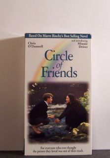 Circle of Friends VHS OOP Minnie Driver 1995 026359121432