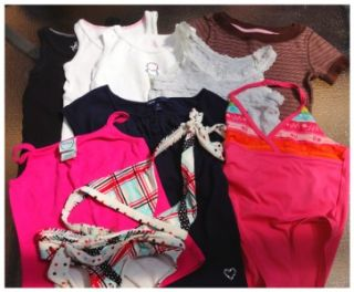 pc Lot of Girls Clothing GAP Old Navy Size 4/5T Swim Suits, Tops
