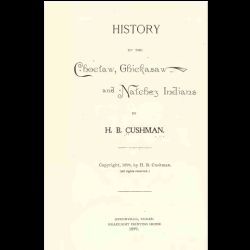 Choctaw Native American Indians {6 Vintage Books} History Grammar