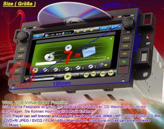 Chevrolet Epica Captiva Lova GPS Navigation Radio Car CD DVD Audio