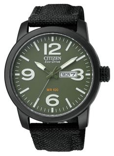 citizen men s black ip strap watch bm8475 00x citizen watch citizen