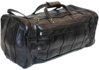 Border Leather Chula Vista Large Carry on Genuine Leather Duffel Bag