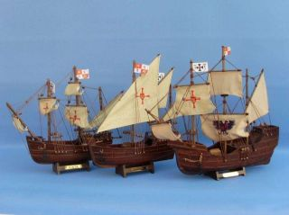 Nina 12 Wooden Model SHIP Christopher Columbus