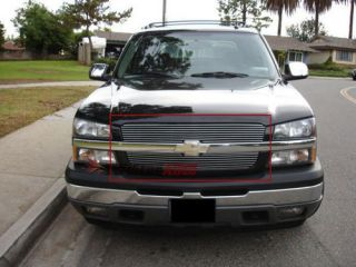2003 2004 Chevy Silverado 2500 3500 Front Grill Aluminum Billet Grille