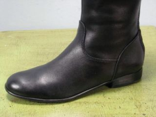 Black Leather Riding Equestrian Style Boots by Ciao Bella Sz 8