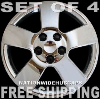 SETOF4 HHR Malibu 16 Chrome Bolt on Wheel Covers Hub Caps Rim Trim