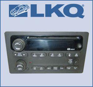 02 2002 03 2003 Chevy Trailblazer GMC Envoy XL Single Disc CD Player