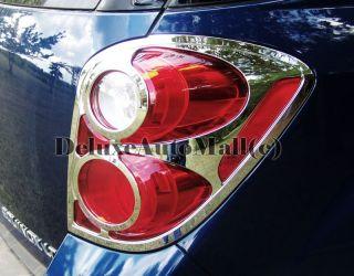 2010 2011 Chevy Equinox Chrome Tail Light Trims Bezels