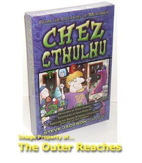 Steve Jackson Games Chez Cthulhu Card Game SEALED New
