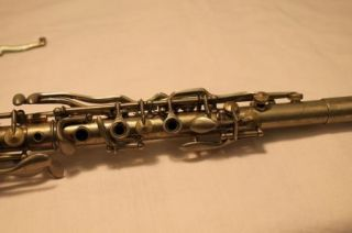 Vintage Elkhart Pan American Brilliante Metal Clarinet