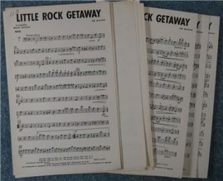 1950 Dixieland Band Chart Little Rock Getaway 7 Parts