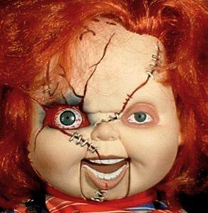 Chucky Horror Doll Ventriloquist Dummy Puppet Figure OOAK Childs Play