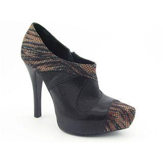 Carlos Santana Chula Womens Sz 7 5 Black Blk Platforms Boots Ankle