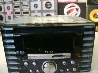 Clarion DFZ675MC Receiver with Sirius Satellite Radio Tuner Sir CL3