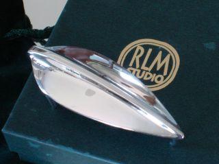 Robert Lee Morris RLM Studio Sterling Silver Belt Buckle