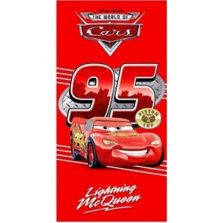 Towel Kids Pixar Film Cars Lightning McQueen Cotton Bath Towels