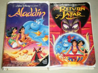 Aladdin Return of Jafar Walt Disney Childrens Animated VHS Movie