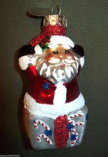 2012 Christopher Radko 3 12 Collectible Santa Claus Christmas Tree