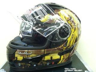 Iron Maiden Full Face Motorcycle Sport Bike Street Bike Helmet