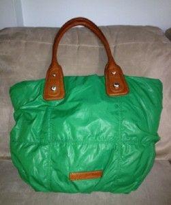 beautiful christopher kon green satchel purse