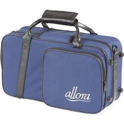Allora Clarinet Case Blue with Exterior Pocket