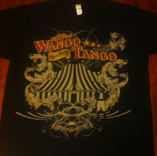 Wango Tango Shirt M Black Eyed Peas Lady Gaga Kelly Clarkson Pitbull