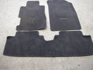 2004 Honda Civic Coupe Floor Mats Black