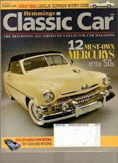 Hemmings Classic Car Magazine January 2009 12 Must Own Mercurys of The