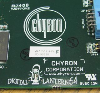 Chyron Digital Lantern 64 Pccodi PCI Card