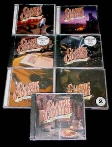14 Time Life Classic Country CD Set Some New and SEALED
