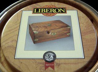 Liberon Clear Fine Paste Wax Black Bison 150ml LFPBB150 C