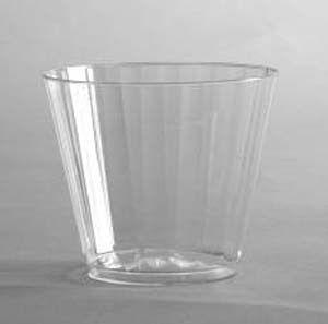 WNA CC9 Comet 9 oz Clear Plastic Classicware Squat Cup