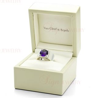 Van Cleef Arpels Authentic Babylone Collection 18K White Gold Ring