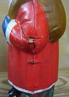 CB20 * SANTA CLAUS BELSNICKLE CHRISTMAS CANDY CONTAINER * ANTIQUE