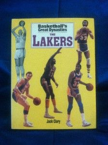 Great Dynasties The Lakers by Jack Clary Hardcover Sport Book