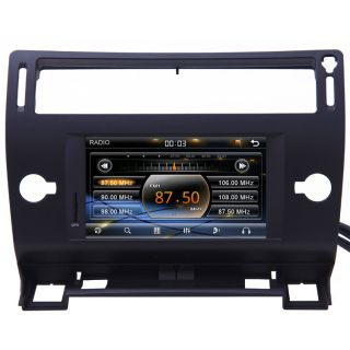 2004 10 Citroen C4 Car GPS Navigation Bluetooth iPod Radio USB MP3 TV