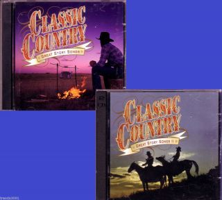 Time Life Classic Country Great Story Songs More 4CD Lot Greatest 50s