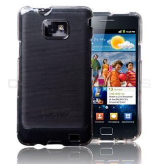 Clear Hard Shell Case Cover for Samsung Galaxy S2 II