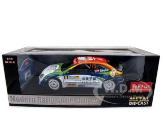 Brand new 1:18 scale diecast model of Citroen Xsara WRC OMV #5 Kronos