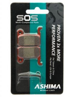 Ashima SOS Disc Brake Pads   Shimano XTR