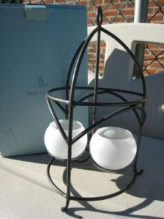 New Retired Partylite Shadow Lights Lantern in Box Discontinued