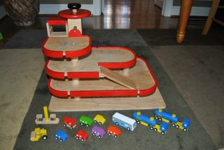 Wooden Toy Car Garage Plans
