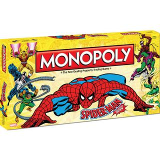 Spider Man Collectors Edition Monopoly