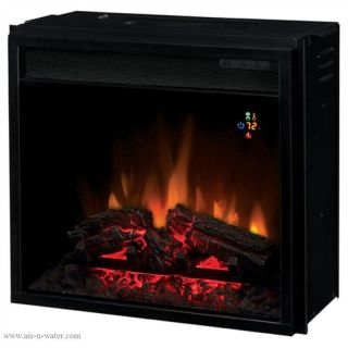Heater Classic Flame 18EF022GRA 18 Backlit Electric Fireplace Insert